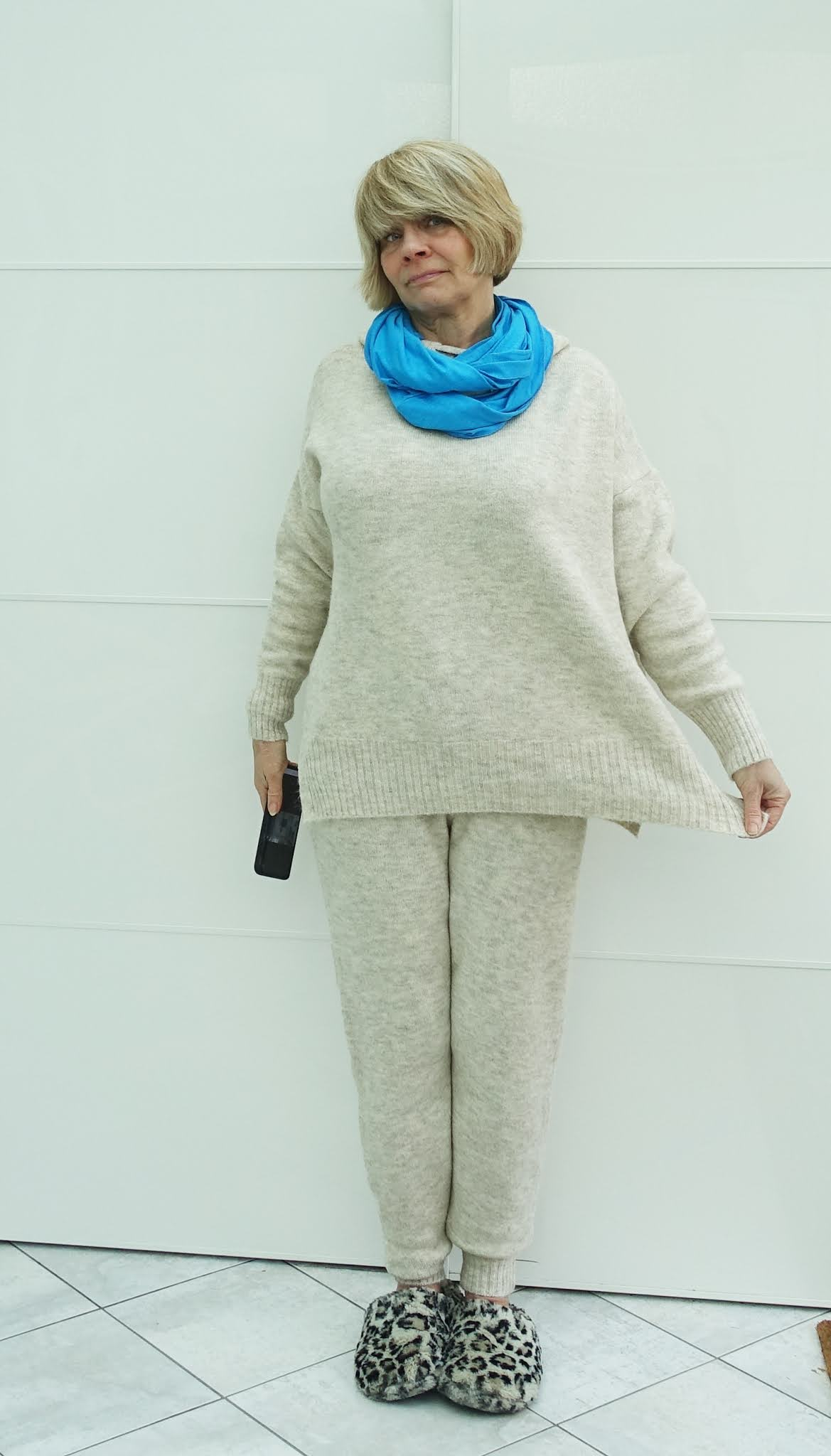 When your lounging hoody is huge - some tips from Is This Mutton blogger Gail Hanlon on improving the fit and dealing with a colour that doesn't suit you