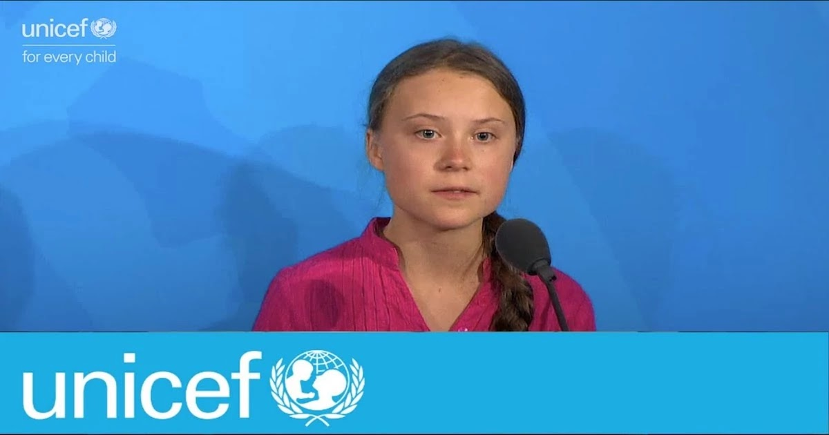 Great Thunberg Donates To Unicef $100,000 Prize To Assist Children And Young People In Fighting Coronavirus
