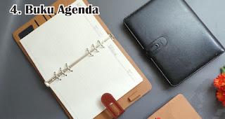 Buku Agenda merupakan salah satu souvenir akhir tahun yang berkesan