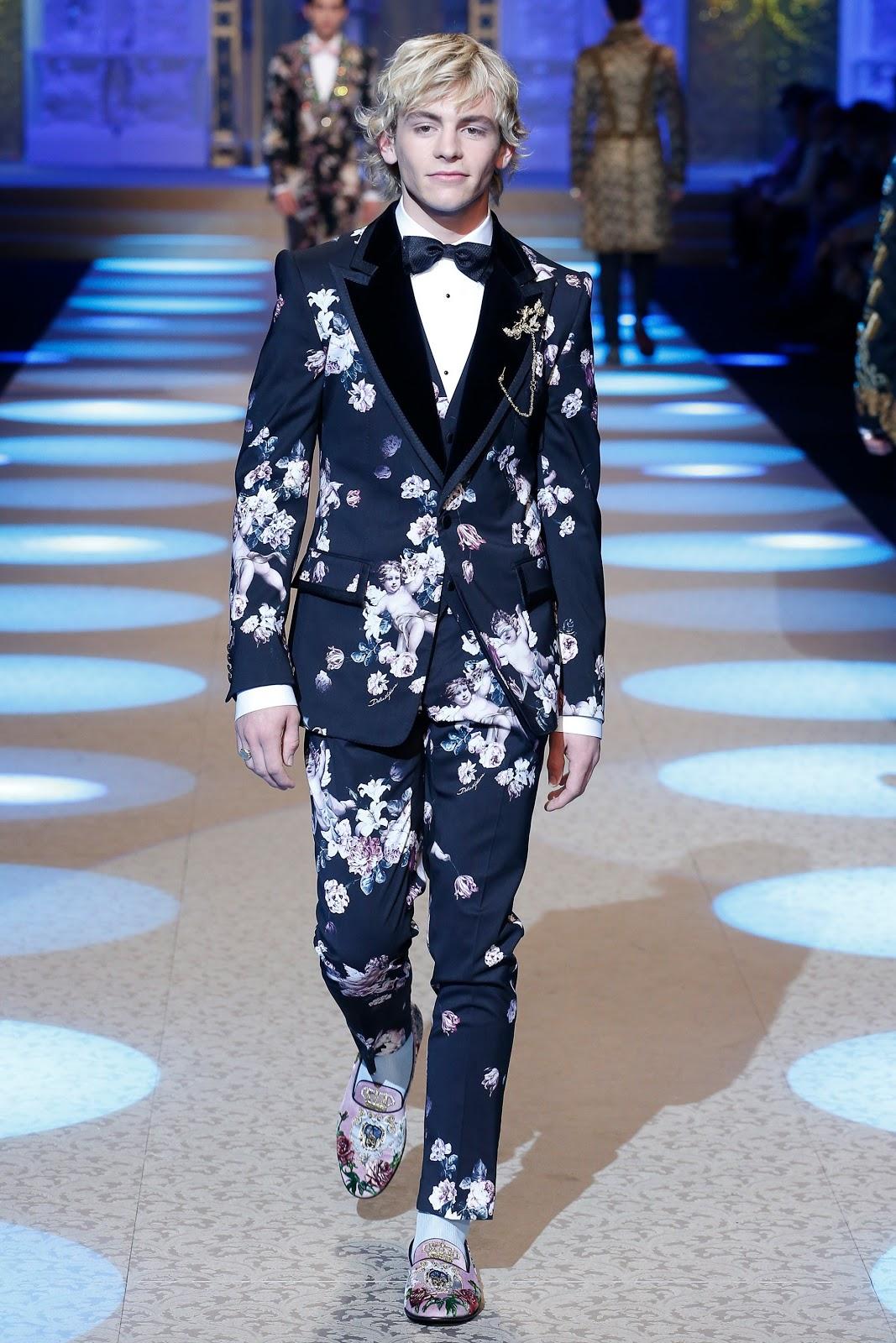 Desfile Dolce Gabbana Menswear Fall Winter 2018 2019 En