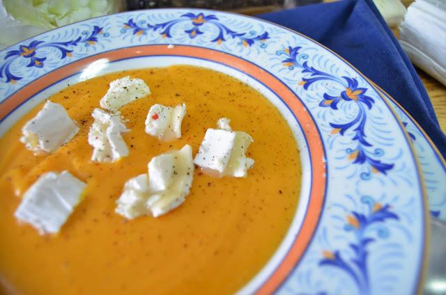 crema de zanahoria y jengibre, crema de zanahoria y jengibre vegana, crema de zanahoria y jengibre historia, crema de zanahoria con jengibre, crema de zanahoria con jengibre y naranja, las delicias de mayte,