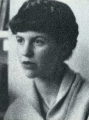 sylvia plath photo in black white