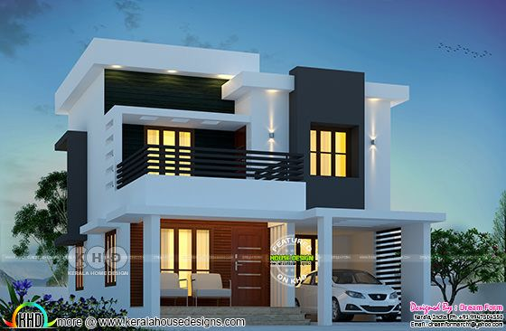 1650 square feet 3 bedroom cute home double storied
