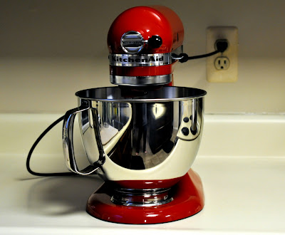 KitchenAid Stand Mixer in Red - Photo by Taste As You Go