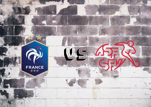Francia vs Suiza  Resumen y Partido Completo