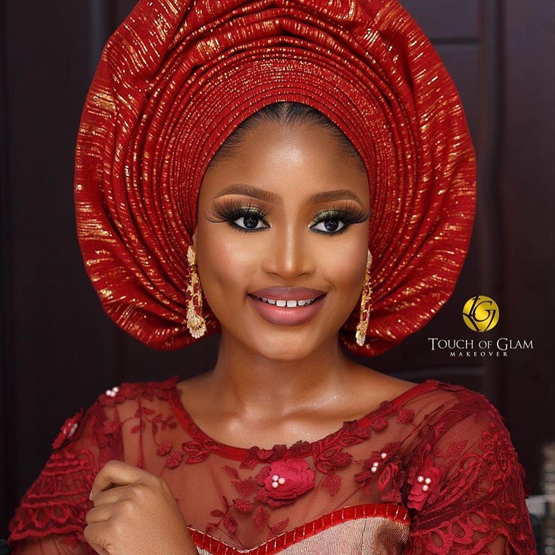 Pretty Nigerian bride