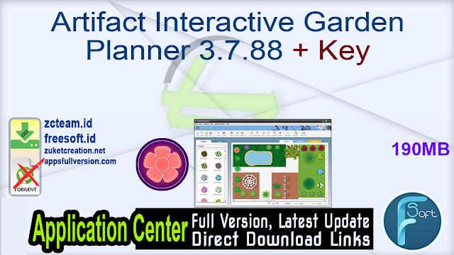 Artifact Interactive Garden Planner 3.7.88 + Key_ ZcTeam.id