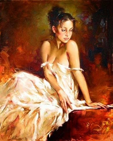 Valéria - Andrew Atroshenko - Um pintor impressionista romântico