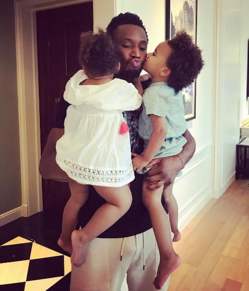 Children Don't Need Ipads, Let Them Use Their Imagination - Mikel Ob i's Fiancee Olga Advises