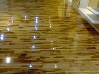grade b jati kayu lantai