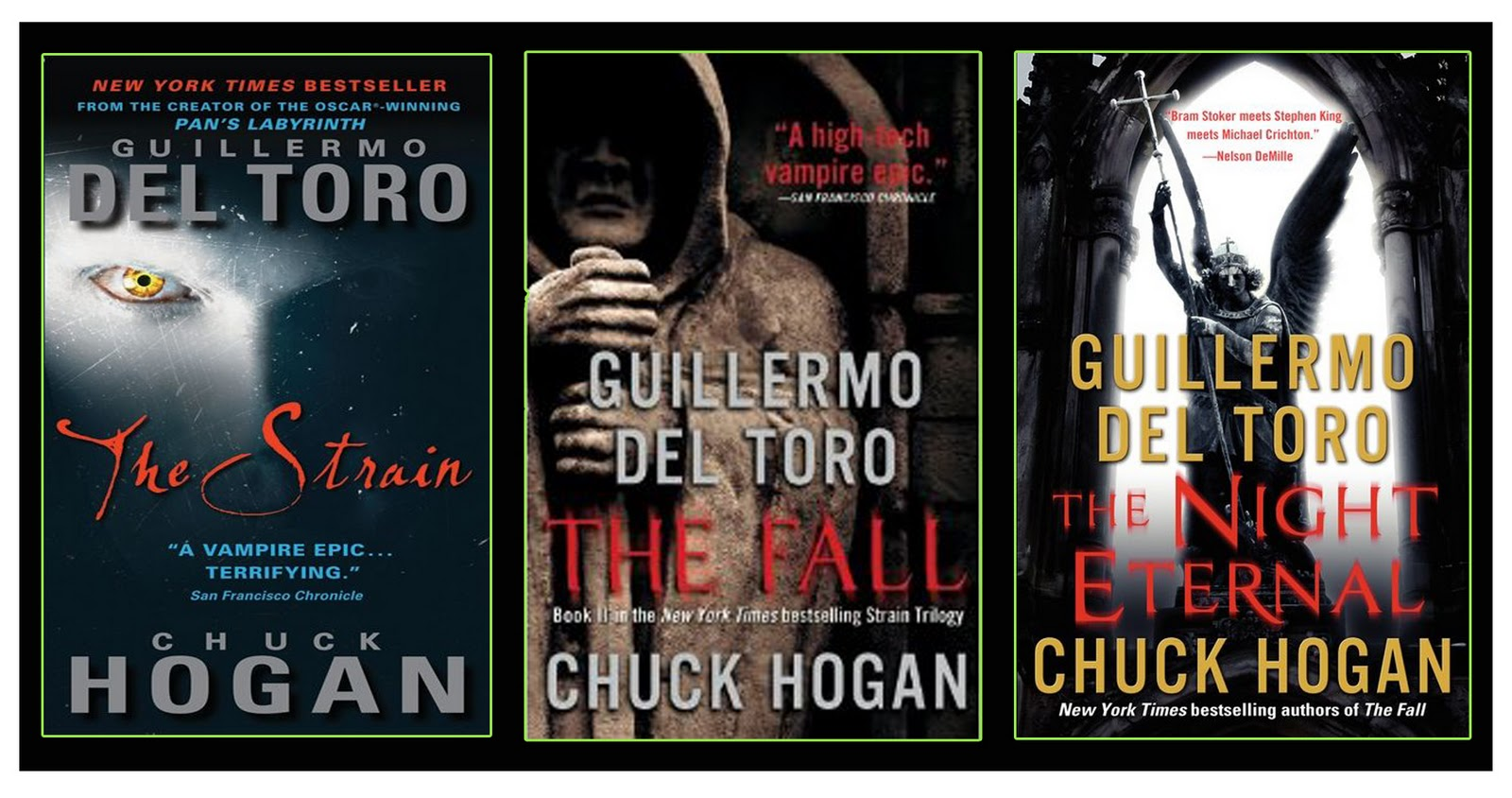 Book One of The Strain Trilogy