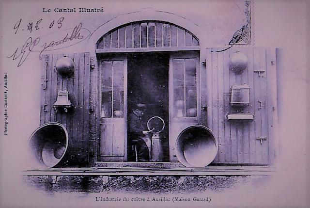 CPA chaudronnier du Cantal