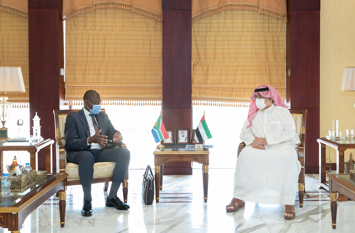 UAE - South Africa to strengthen trade ties