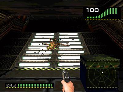 Alien Trilogy Gameplay