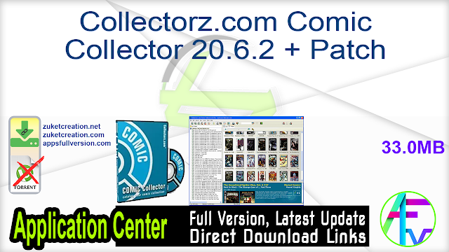 Collectorz.com Comic Collector 20.6.2 + Patch