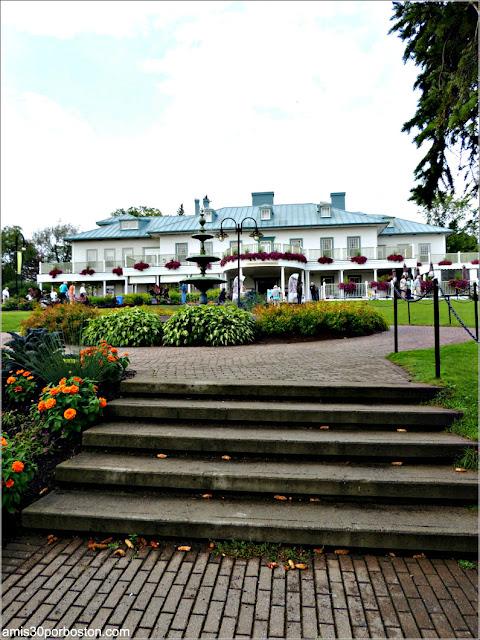 Mansión Montmorency en el Parque de la Chute-Montmorency de Quebec
