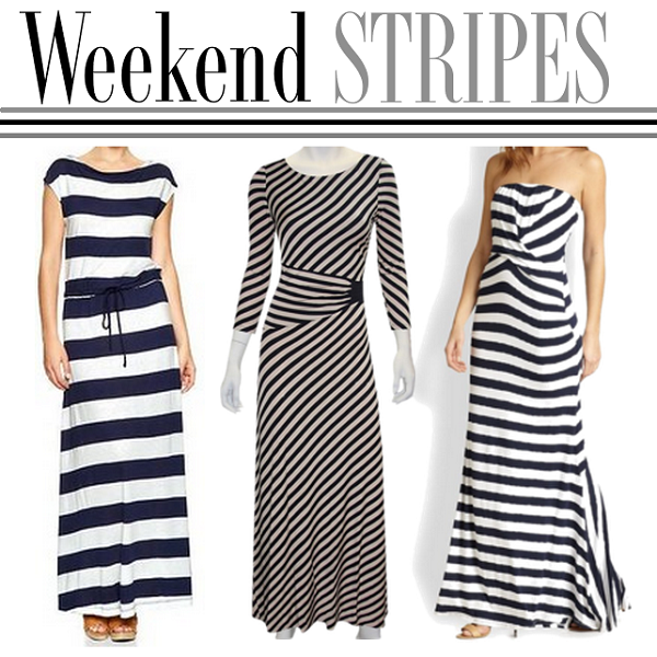 Striped Dresses, Spring Outfit Ideas, Striped Maxi Dress, Gap Striped Maxi