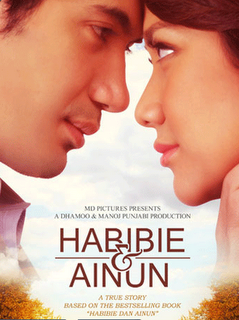 Habbie & Ainun 2012 Indonesian 720p WEB-DL 900MB With Subtitle