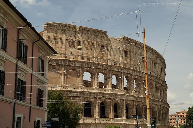 Kolosseum in Rom - Städtetrip nach Rom im Juni 2017 | Tasteboykott