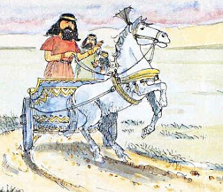 Naaman parte alla volta d'Israele