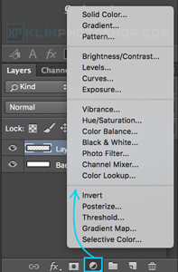 create adjusment layer photoshop