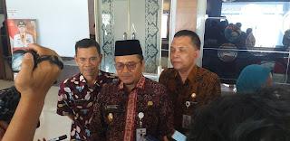 Wakil Walikota Jambi Secara Resmi Membuka Festival Karnaval Angso Duo.