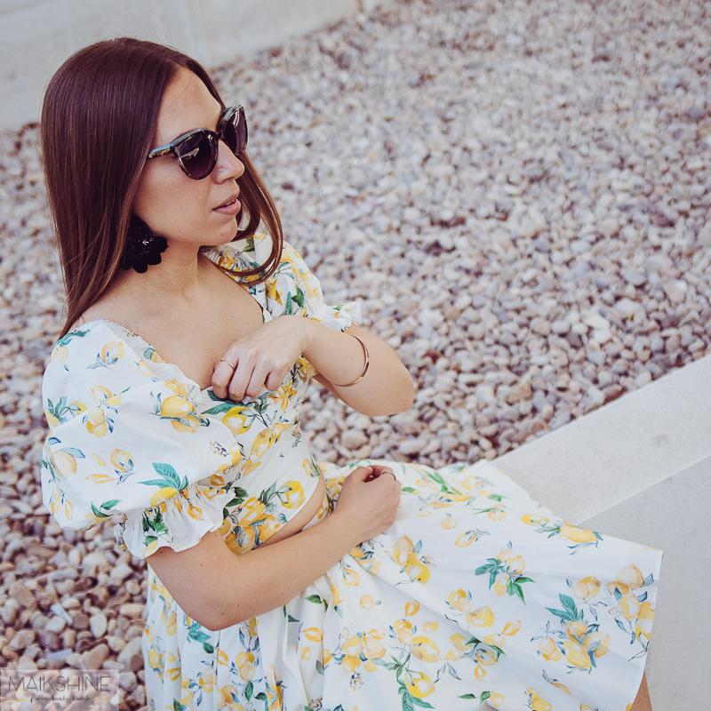 Outfit estampado limones Maikshine