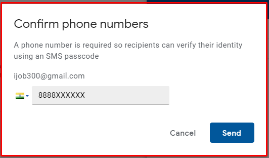 Gmail se password protected email kaise bheje