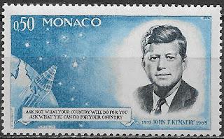 Monaco , 1964 , John F Kennedy