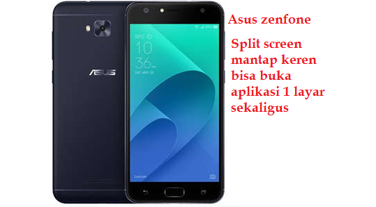 Split Screen smartphone Asus Zenfone