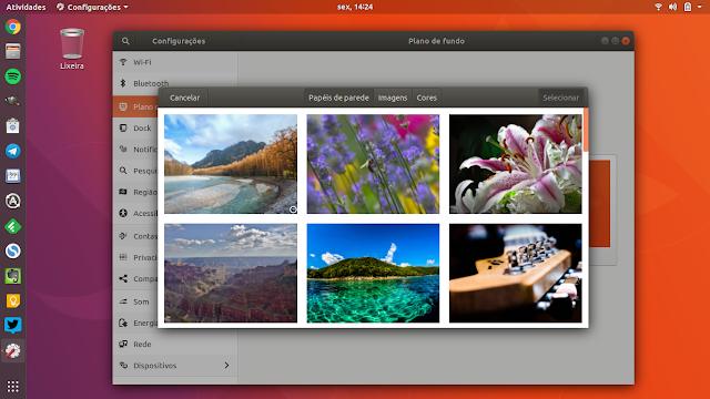 Novos Wallpapers do Ubuntu