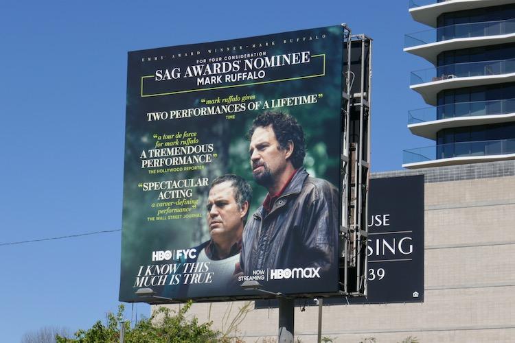 Mark Ruffalo I Know This Much Is True SAG nominee billboard