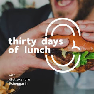 Thirty days of Lunch Podcast