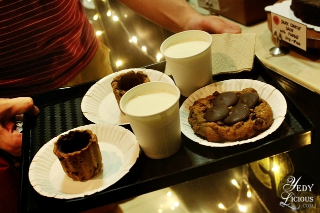 YedyLicious, Hungy Giant, and Hefty Foodie's Cravings at Cookie Bar Manila