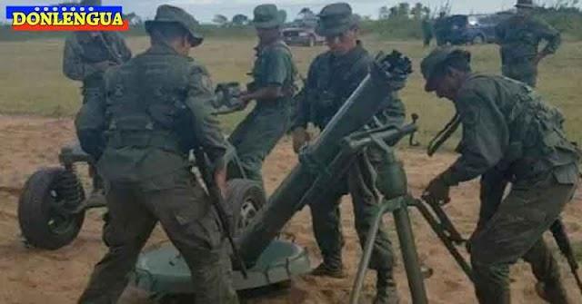 Mortero ruso mató a dos militares de las FANB al explotar en sus manos