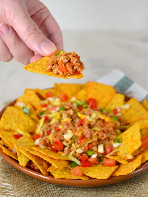 nachos con carne receta f cil de cocina mexicana