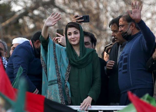 Fighting for the truth, not cowards: Maryam