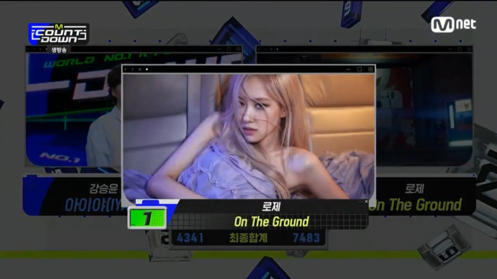 BLACKPINK's Rosé Takes Home The 6th Trophy With The Song 'On The Ground'