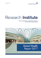 Global Wealth Report 2017 by Credit Suisse