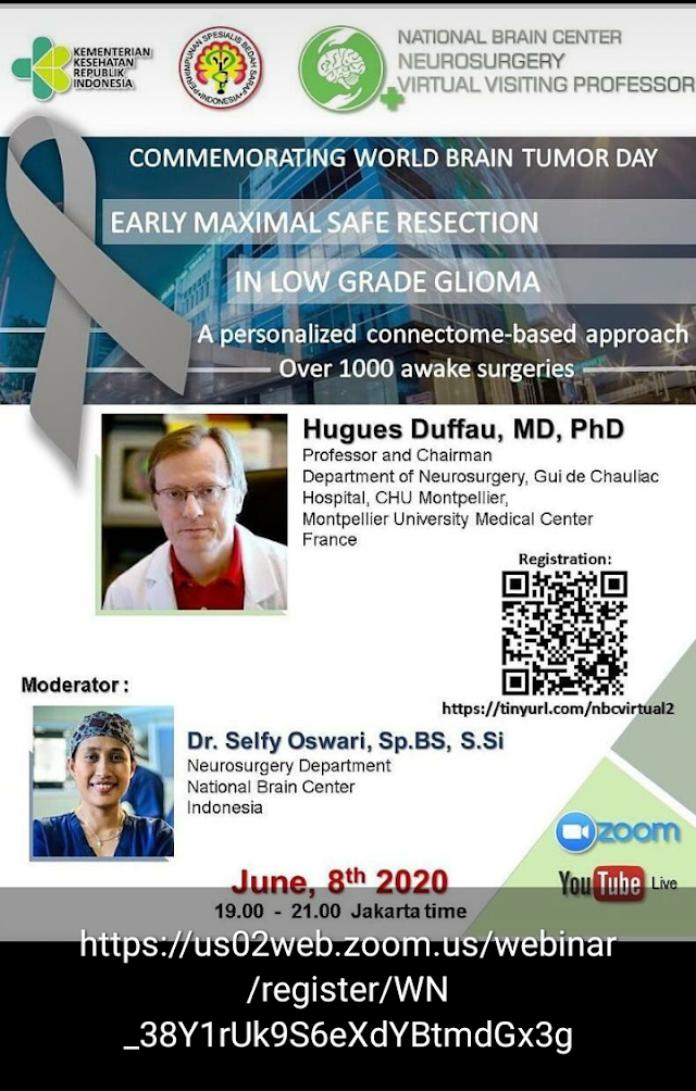 Webinar Early Maximal Safe Resection in Low Grade Glioma June 8th 2020