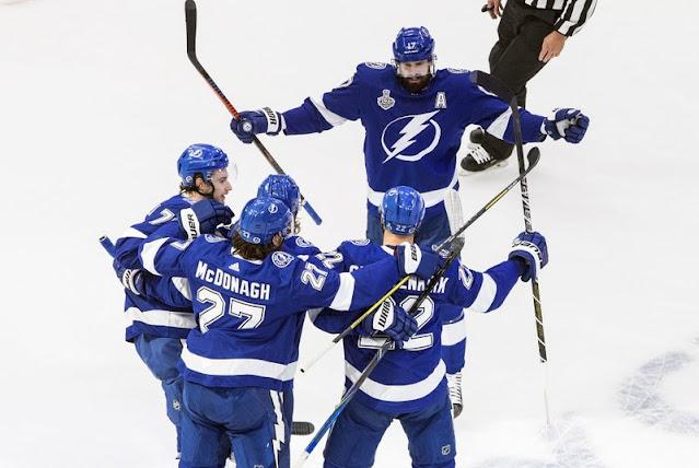 NHL Stanley Cup Finals 2020: Game 2 - Los Lightning golean en el primer periodo y consiguen empatar la serie