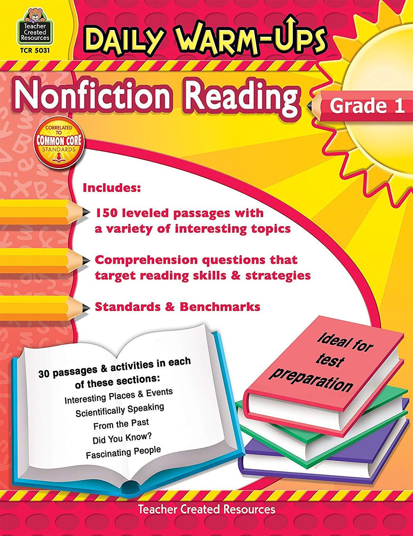 Download Daily Warm Ups Reading Grade 1