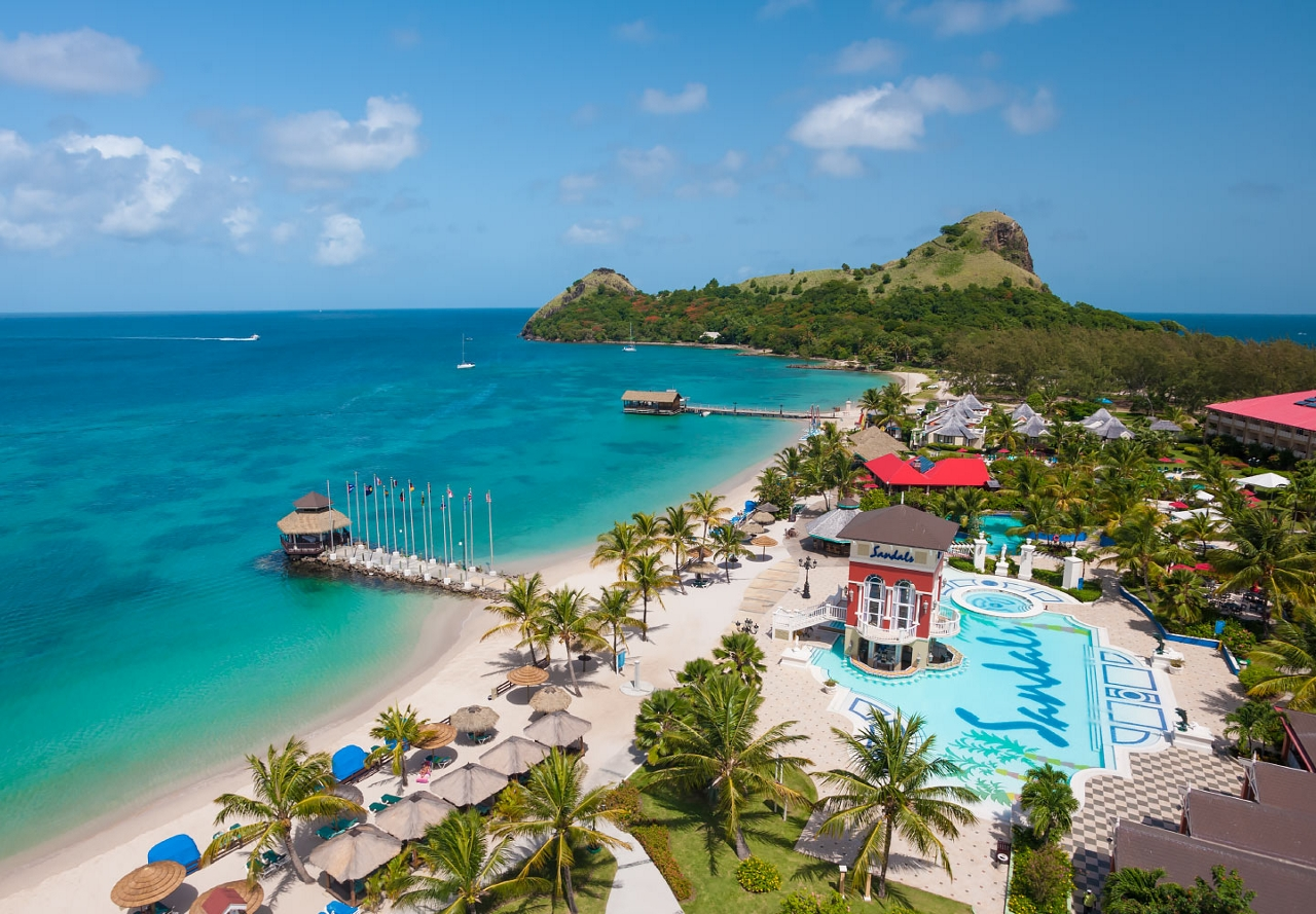 1de5414774305 Travel 2 the Caribbean Blog  Sandals New Overwater Bungalows St Lucia