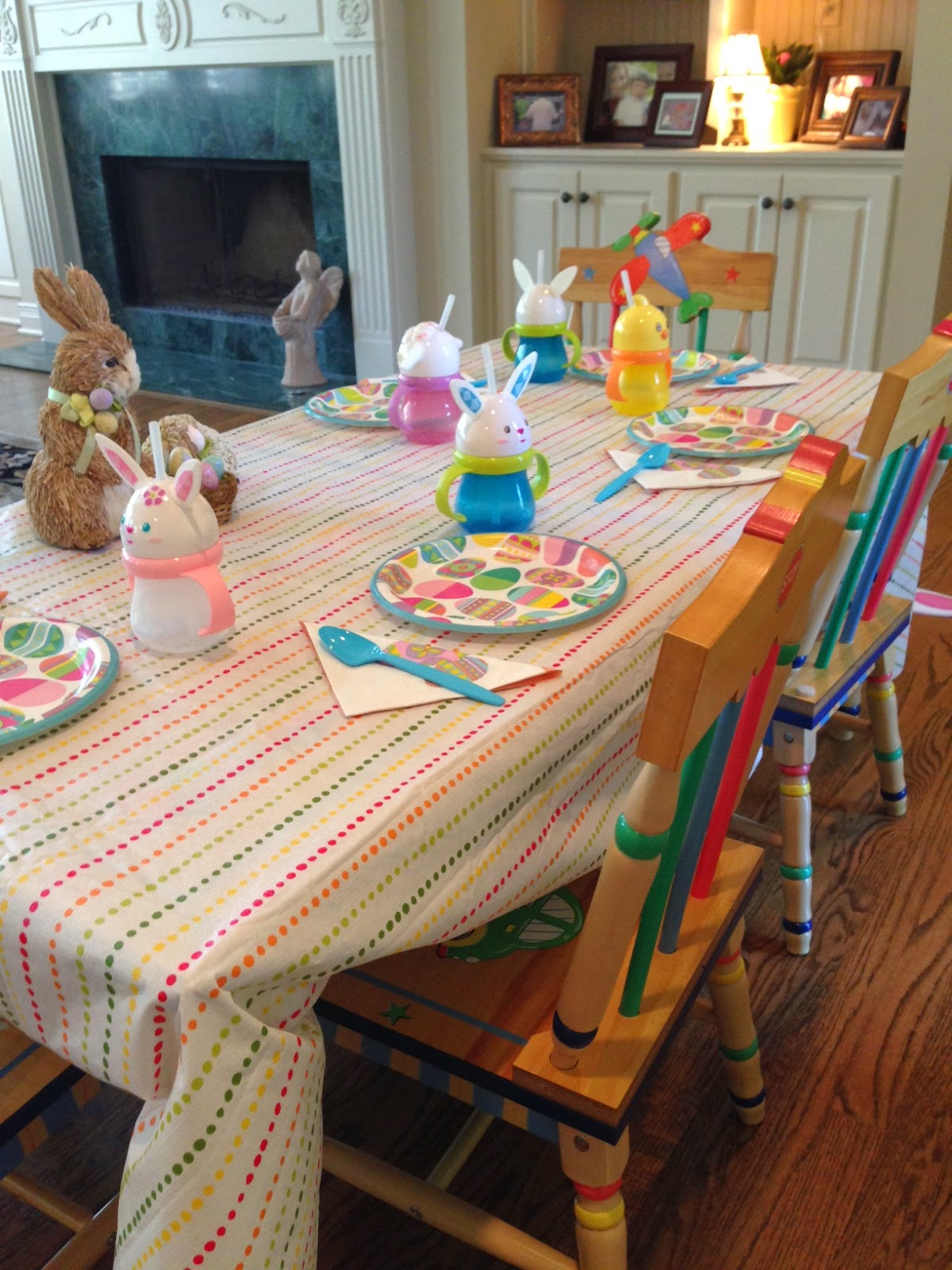 Costco Easter Baskets: Estelle's: OUR EASTER DAY....ACROSS THE MILES