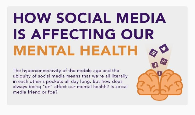 How Social Media is Affecting Our Mental Health #infographic