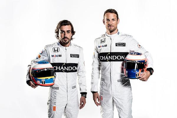 McLaren Honda 2016 F1 Driver
