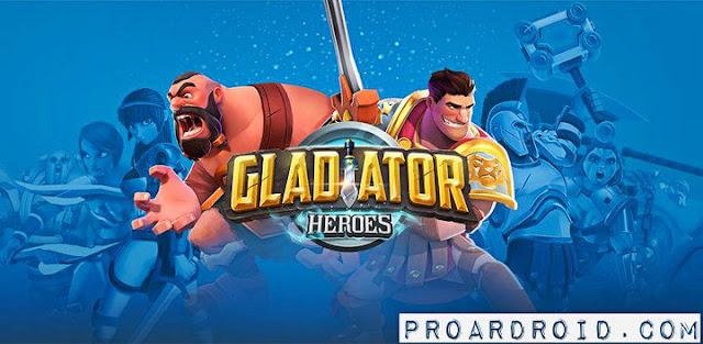 لعبة Gladiator Heroes Clash Apk مهكرة