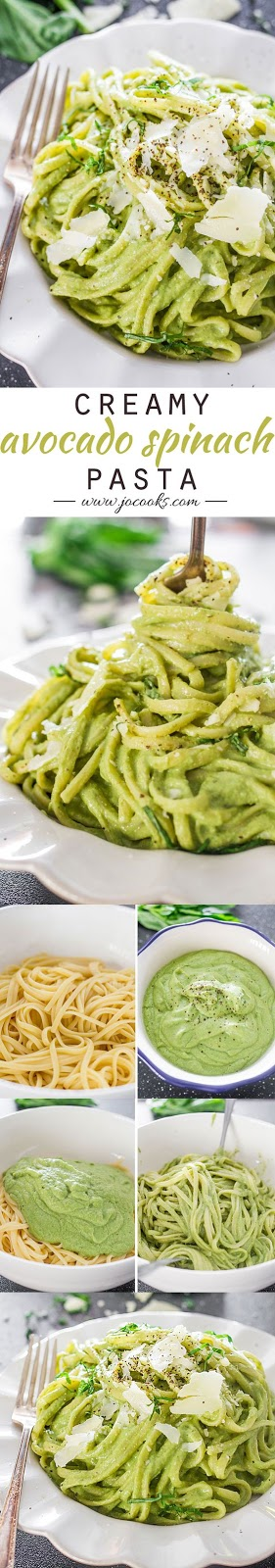 Creamy Avocado Spinach