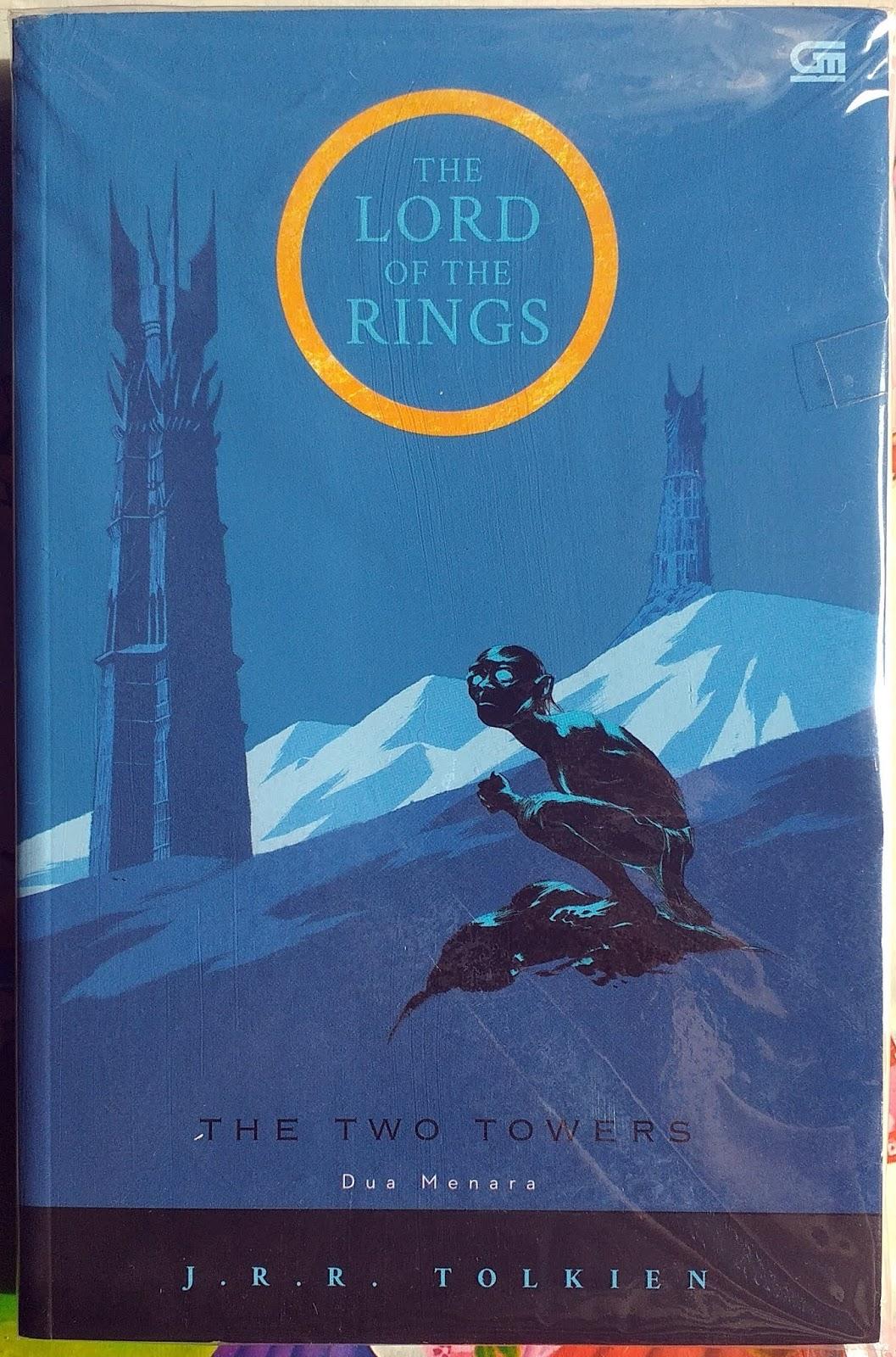 Olak Alik Store Blog Review Novel The Lord Of The Rings The Two Towers By J R R Tolkien Berakhir Menegangkan