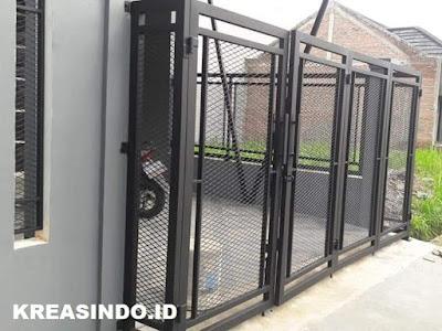 Jasa Pintu Pagar Plat Peforated Dan Plat Expanded Di Jabodetabek